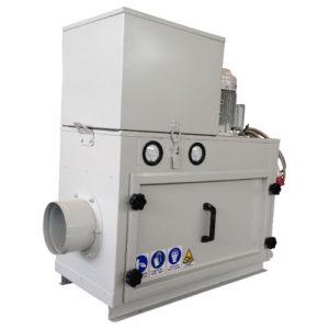 Unità filtrante nebbie oleose per installazione bordo macchina