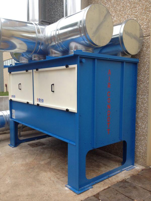 Depuratore OIL-STOP installato in torneria meccanica di precisione