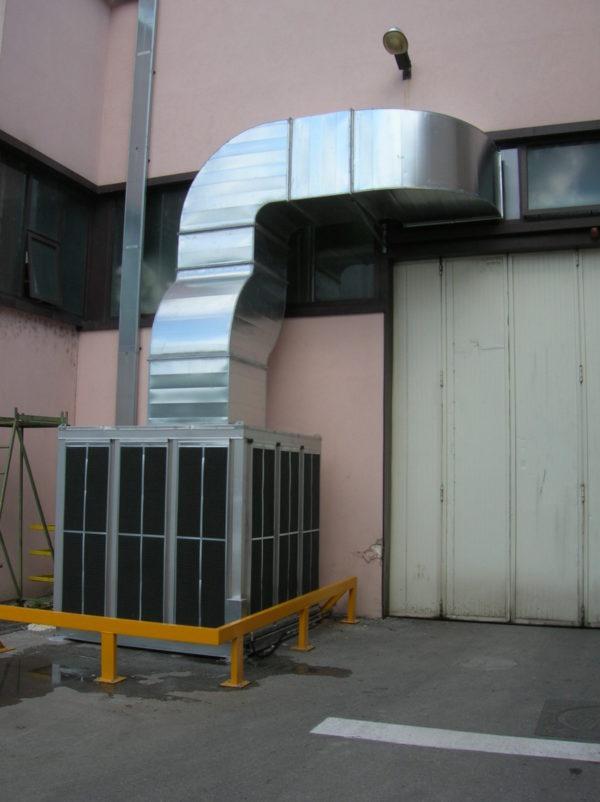 raffrescamento capannoni