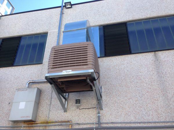 Raffrescatore evaporativo 18000mc/h
