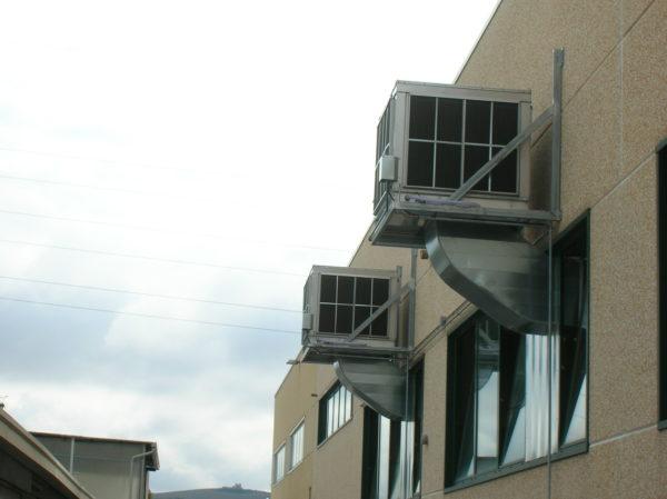 n° 2 Raffrescatori installati in torneria automatica