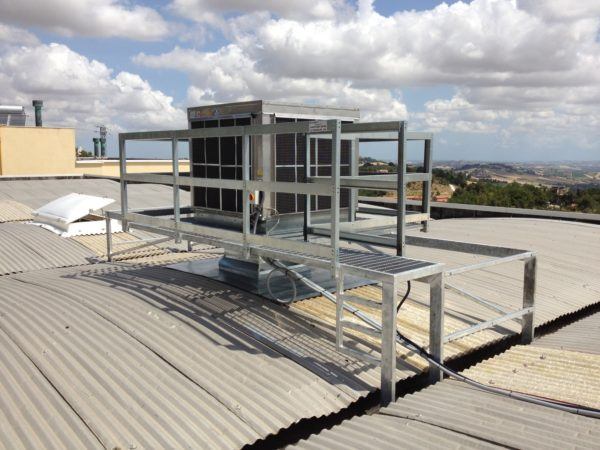 raffrescatore evaporativo da tetto