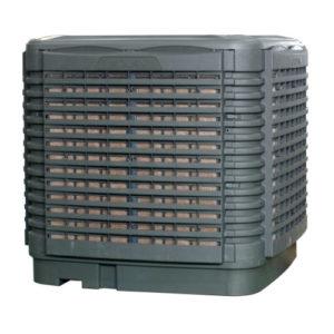 raffrescatore evaporativo adiabatico uscita aria superiore