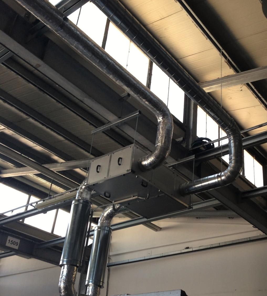 impianto ricambi aria uffici