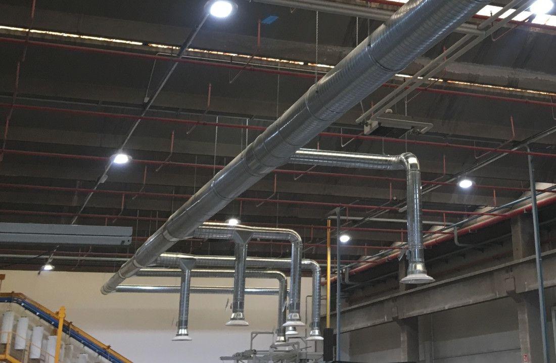 impianti raffrescamento capannoni