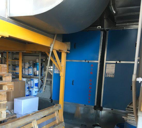 depuratore impianto verniciatura